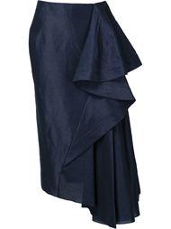 длинная драпированная юбка Esteban Cortazar