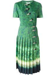 плиссированное платье Altuzarra