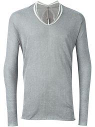 свитер с принтом Label Under Construction