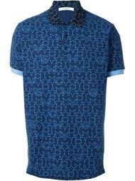 футболка-поло с принтом звезд Givenchy