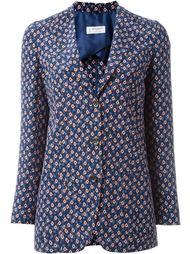 пиджак с мелким узором Alberto Biani
