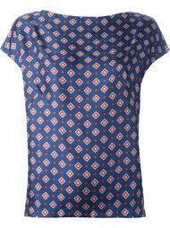 блузка с орнаментом Alberto Biani