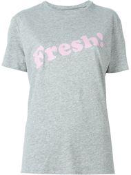 футболка с надписью 'Fresh!' 6397
