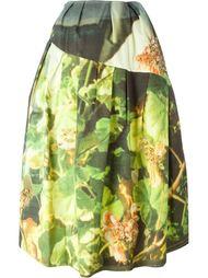 пышная юбка с цветочным принтом Simone Rocha