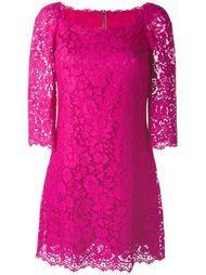 кружевное платье мини Dolce & Gabbana