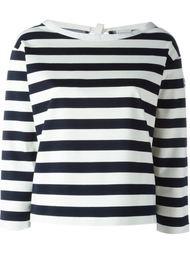 футболка с в бретонскую полоску Moncler