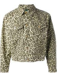 джинсовая леопардовая куртка 'Junior Gaultier'  Jean Paul Gaultier Vintage