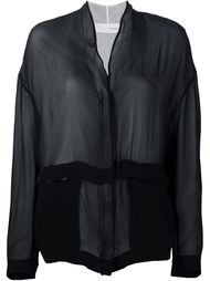 прозрачная куртка Isabel Benenato
