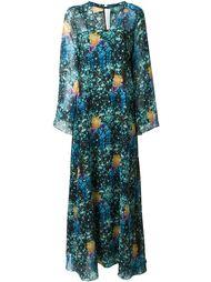 платье с цветочным принтом   Francesco Scognamiglio