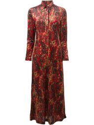 длинное бархатное платье  Jean Paul Gaultier Vintage