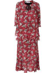 платье с принтом зебр Ryan Lo