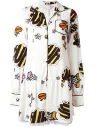 платье-рубашка с графическим принтом  Giamba