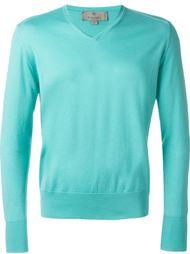 свитер c V-образным вырезом   Canali