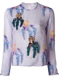блузка с цветочным принтом   Francesco Scognamiglio
