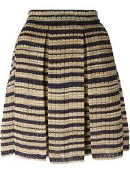 трикотажная юбка в полоску Ermanno Scervino