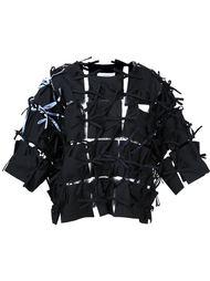 рубашка с панелями на завязках Facetasm