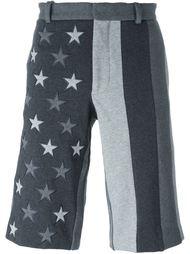 шорты с нашивками-звездами Givenchy