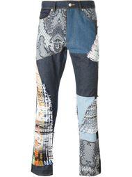 лоскутные джинсы  James Long
