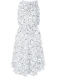 ink dot print dress Derek Lam 10 Crosby
