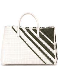 сумка-шопер с геометрическим узором  Anya Hindmarch