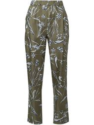 брюки с цветочным принтом 3.1 Phillip Lim