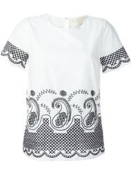 футболка с вышивкой  Michael Michael Kors