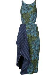 асимметричное платье с цветочным принтом 3.1 Phillip Lim
