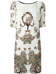 платье с абстрактным принтом  Antonio Marras