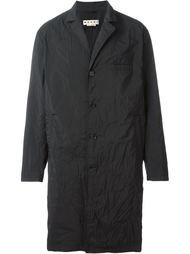 пальто с помятым эффектом  Marni