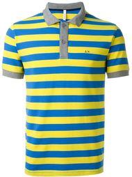 полосатая футболка-поло  Sun 68