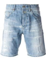 шорты с потертой отделкой Dondup