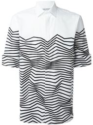 рубашка с принтом  Neil Barrett