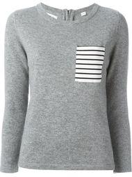 свитер с нагрудным карманом в полоску Chinti And Parker