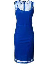 платье без рукавов DKNY
