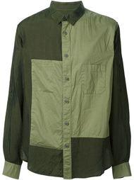 лоскутная рубашка  Yohji Yamamoto