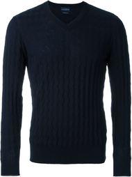 свитер c V-образным вырезом   Ballantyne