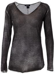 пролупрозрачный свитер  Avant Toi