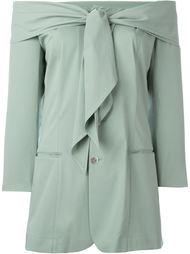 пиджак с открытыми плечами Jean Paul Gaultier Vintage