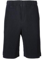 шорты в рубчик Homme Plissé Issey Miyake