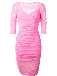 облегающее платье  Versace