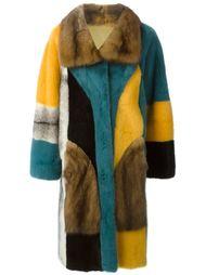 двухстороннее меховое пальто Liska