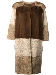 пальто с панельным дизайном Liska