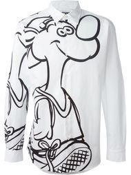 рубашка с принтом  Moschino