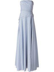 платье без бретелек  Ralph Lauren