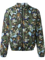 куртка-ветровка с принтом MSGM