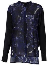 блузка с принтом  Ilaria Nistri