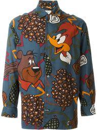 рубашка с принтом анимационных героев Jc De Castelbajac Vintage