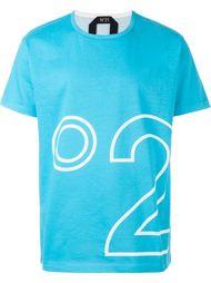 футболка с принтом-логотипом Nº21