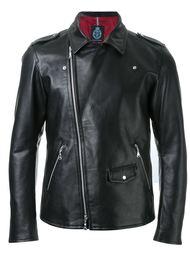 байкерская куртка со смещенной молнией Guild Prime