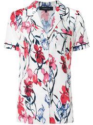 пижамная рубашка с цветочным принтом Thakoon